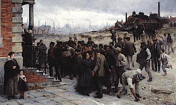 """Wikipedia: """"Die Streikenden"""" von Koehler"""