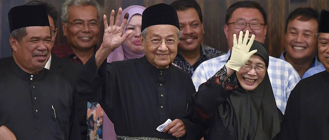 Lëtzebuerger Journal Historische Wende: Asien: Historische Wende In Malaysia